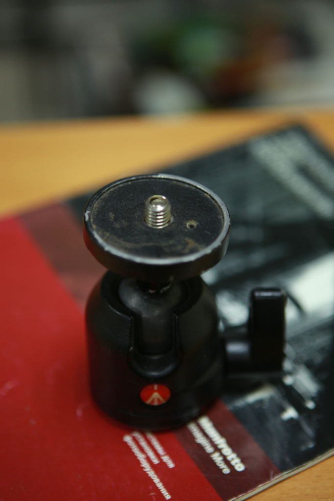 Шаровая голова Manfrotto 486. Иваблог